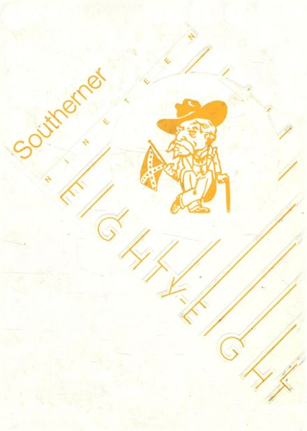 1988 Southside High School Yearbook Cover