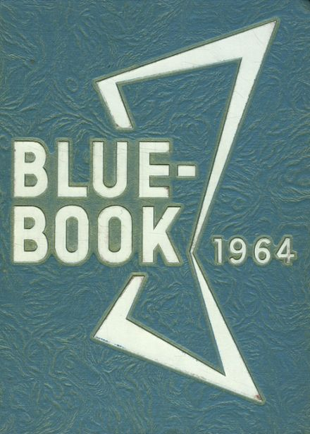 1964 St. Mary's High School Yearbook Cover