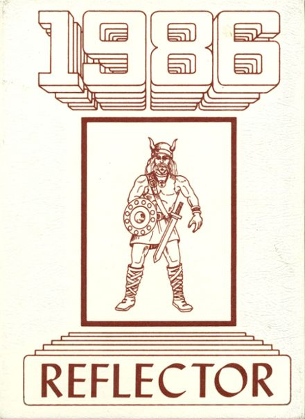1986 Caribou High School Yearbook Cover