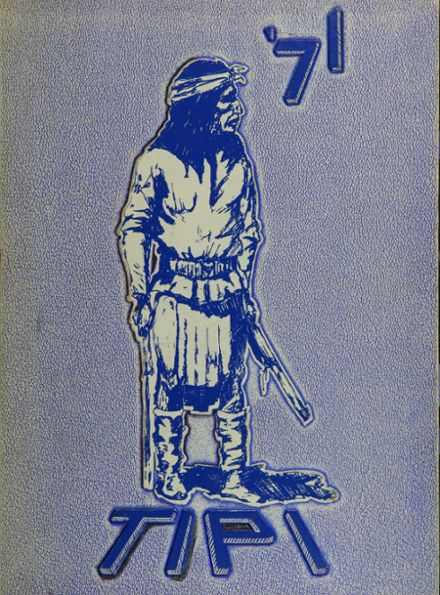 1971 H. Grady Spruce High School Yearbook Cover