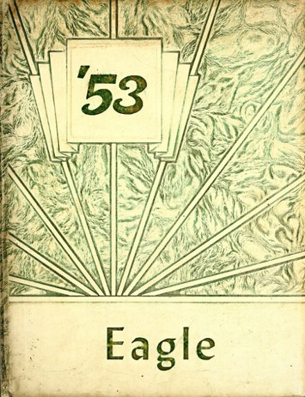 1953 Monmouth High School Yearbook Cover
