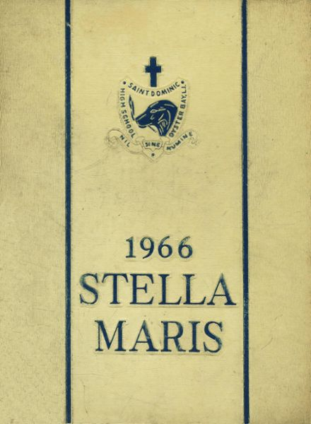 1966 St. Dominic's High School Yearbook Cover