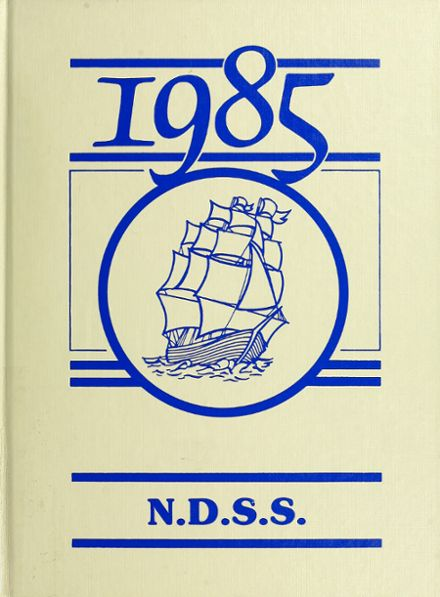 1985 Nanaimo District Secondary School Yearbook Cover