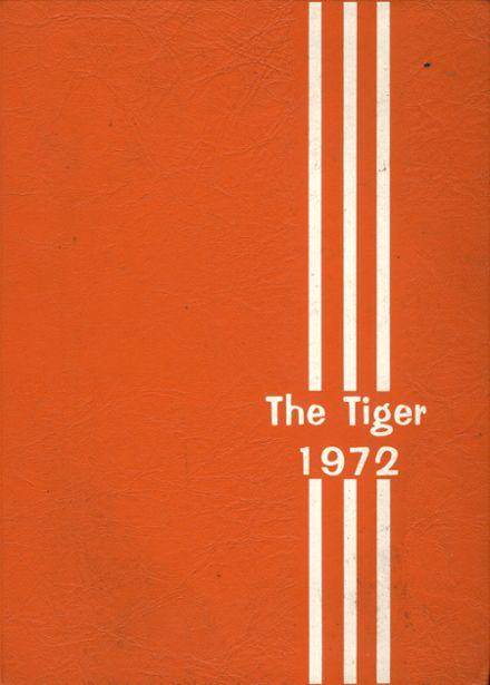 1972 Texas High School Yearbook Cover