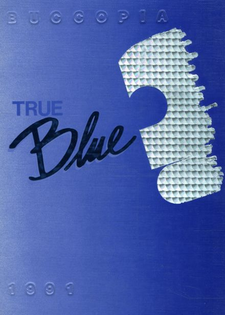 1991 Burrell High School Yearbook Cover