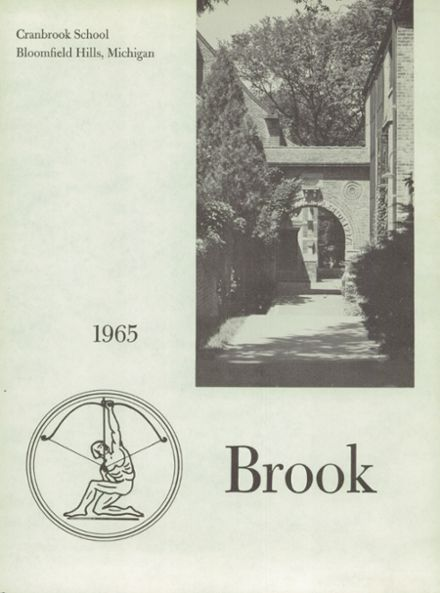 1965 Cranbrook School Yearbook Page 5