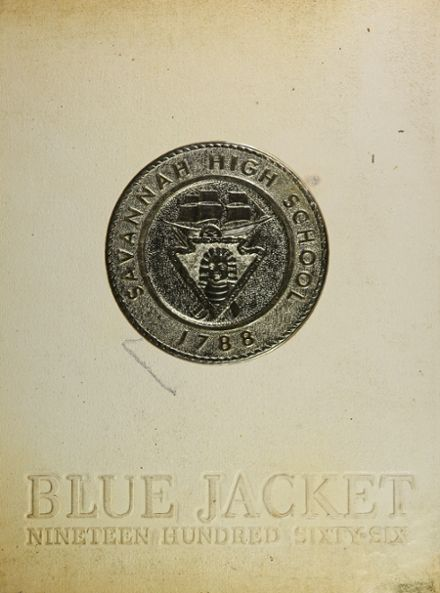 1966 Savannah High School Yearbook Cover