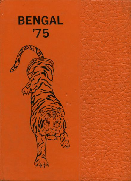 1975 Rosman High School Yearbook Cover