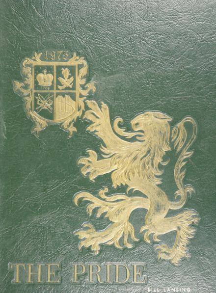 1975 Queen Anne's County High School Yearbook Cover