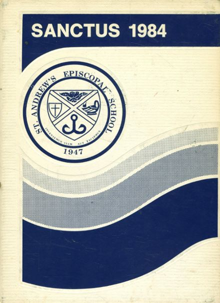 1984 St. Andrew's Episcopal High School Yearbook Cover