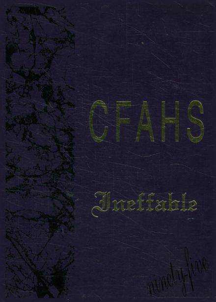 1995 Colorado's Finest Alternative High School Yearbook Cover