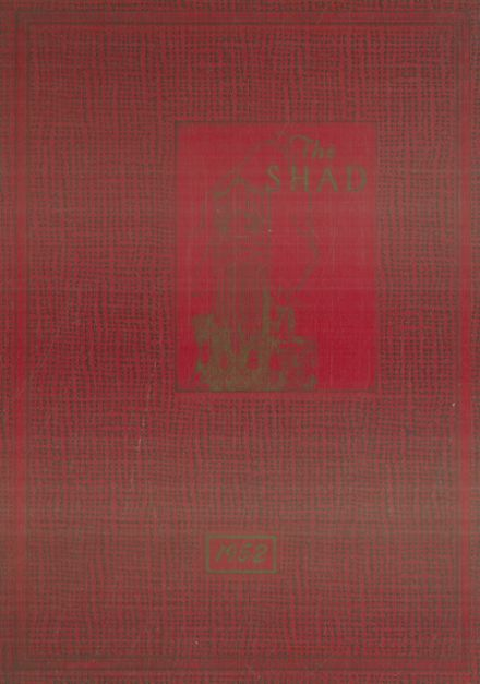 1952 Shattuck - St. Mary's School Yearbook Cover