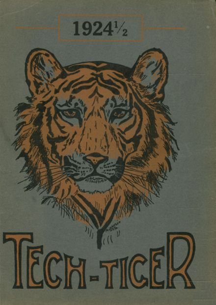 1924 Technical High School Yearbook Cover