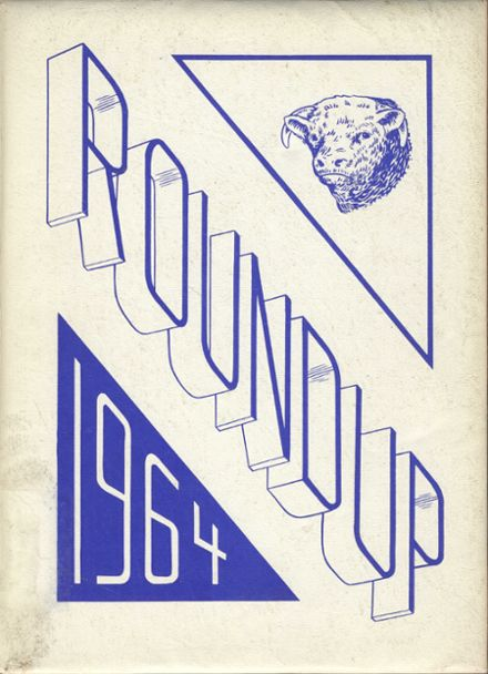1964 Farwell High School Yearbook Cover