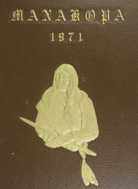 1971 Johnson High School Yearbook Cover