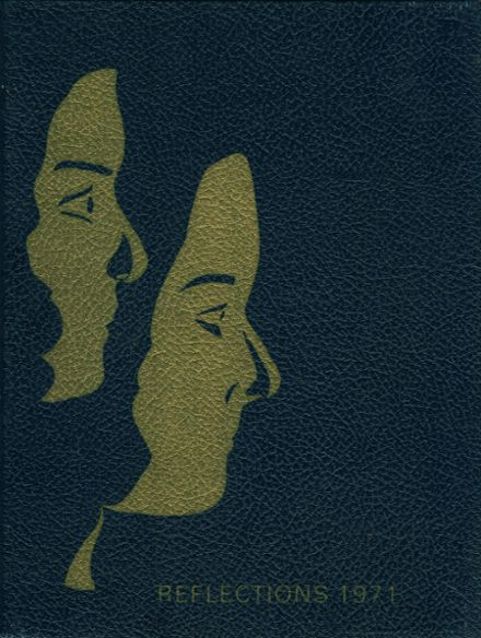1971 St. John's Ursuline High School Yearbook Cover