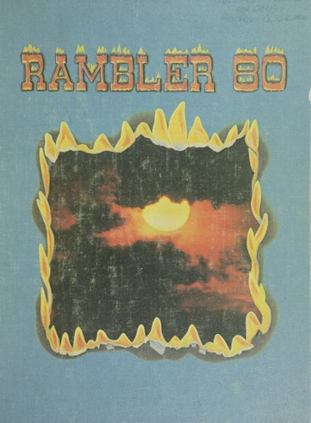 1980 Lancaster High School Yearbook Cover