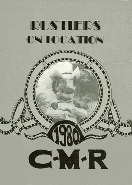 1980 Charles M. Russell High School Yearbook Cover