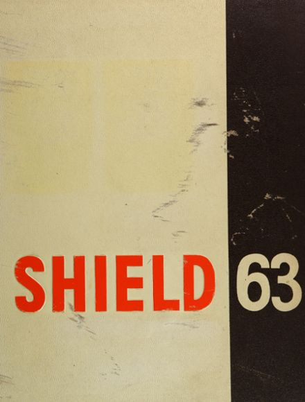 1963 Grant High School Yearbook Cover