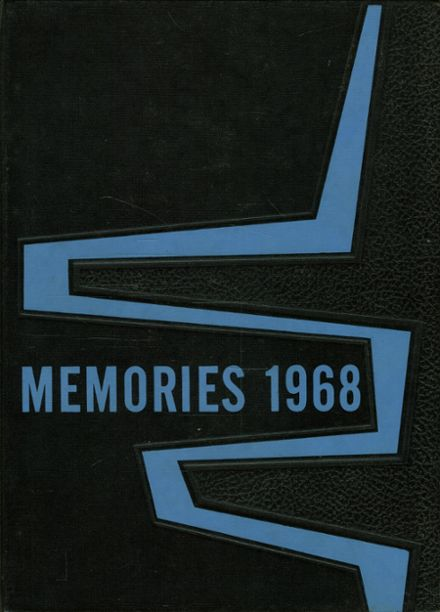 1968 St. Francis Academy Yearbook Cover