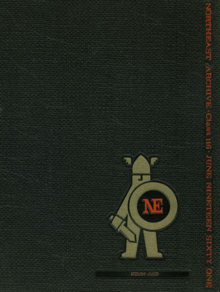1961 Northeast High School Yearbook Cover
