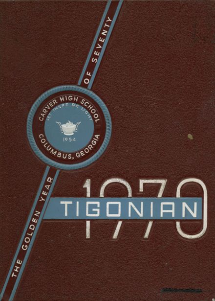 1970 Carver High School Yearbook Cover