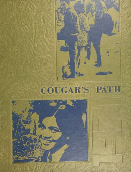 1971 Crenshaw High School Yearbook Cover