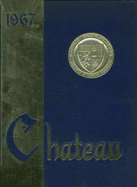 1967 St. Basil's Preparatory School Yearbook Cover