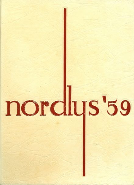 1959 Northeast High School Yearbook Cover