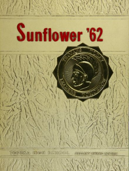 1962 Topeka High School Yearbook Cover