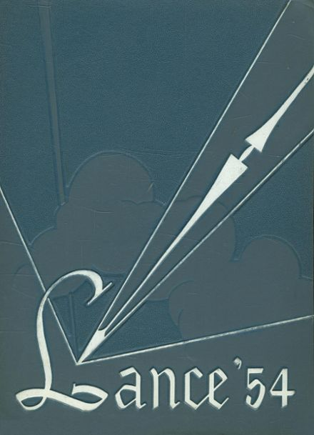 1954 St. Catherine's High School Yearbook Cover