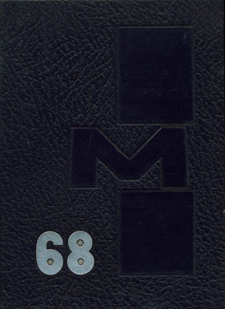 1968 Moline High School Yearbook Cover