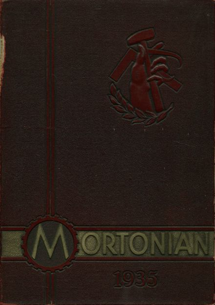 1935 J. Sterling Morton East High School Yearbook Cover
