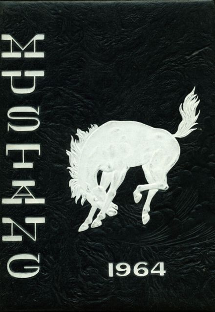 1964 King City High School Yearbook Cover