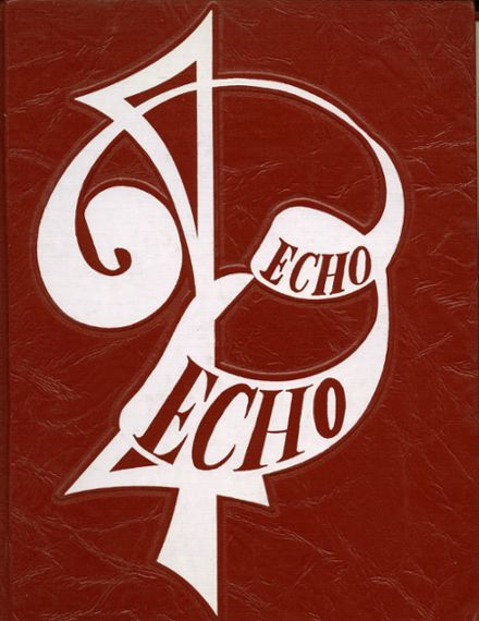 1964 Sanger High School Yearbook Cover