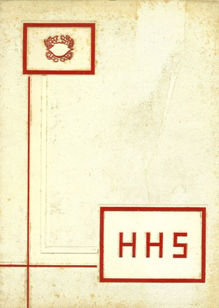 1962 Hampton High School Yearbook Cover