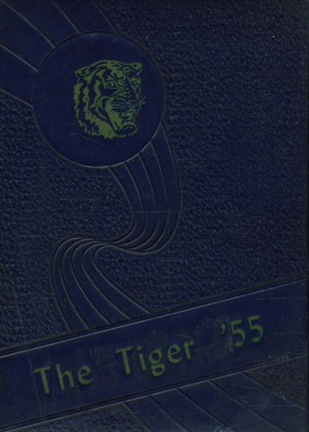 1955 Carver High School Yearbook Cover
