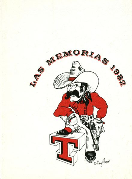 1982 Tascosa High School Yearbook Cover
