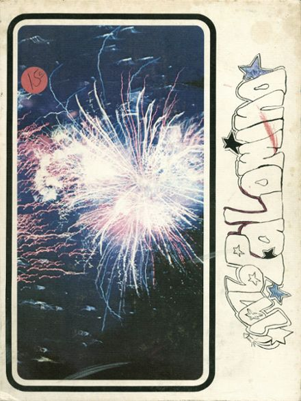 1976 Carson High School Yearbook Cover