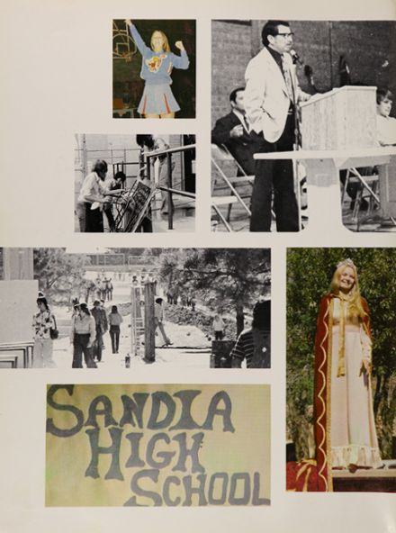 1975 Sandia High School Yearbook Page 6