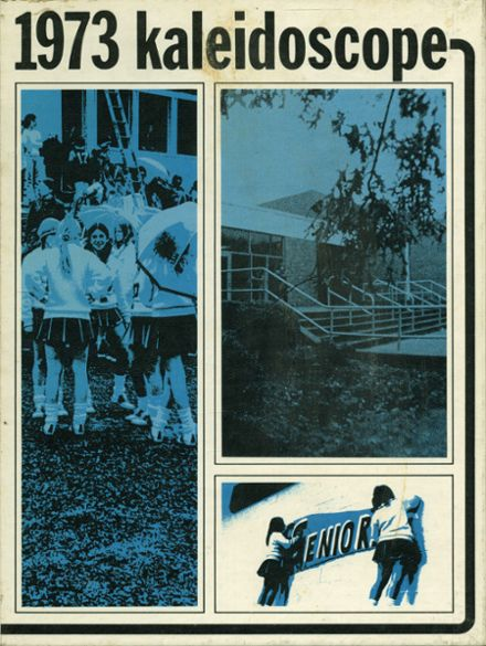 1973 Palisades Park High School Yearbook Cover