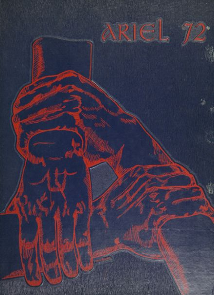 1972 Santa Ana High School Yearbook Cover