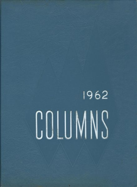 1962 Clifton High School Yearbook Cover