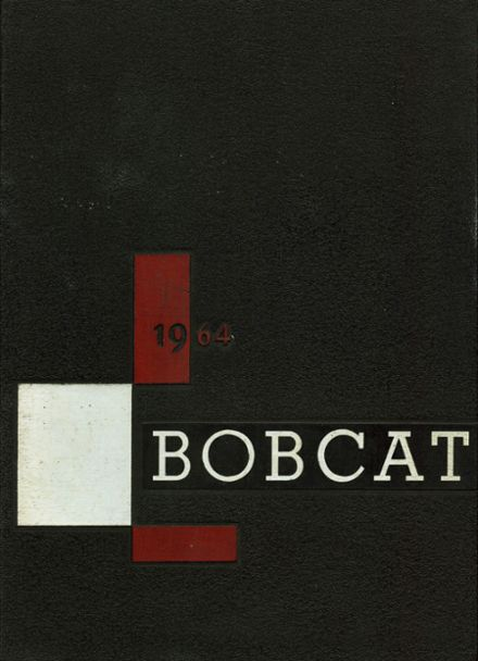 1964 Brookings High School Yearbook Cover