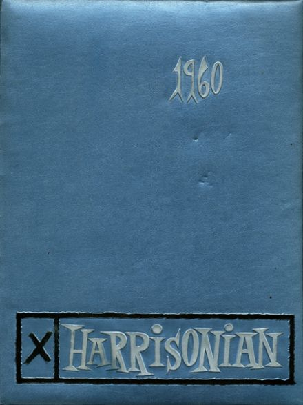 1960 Harrison Technical High School Yearbook Cover