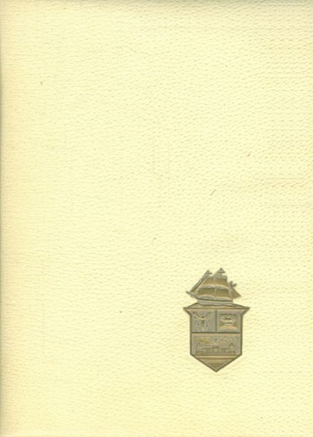 1960 Perrysburg High School Yearbook Cover