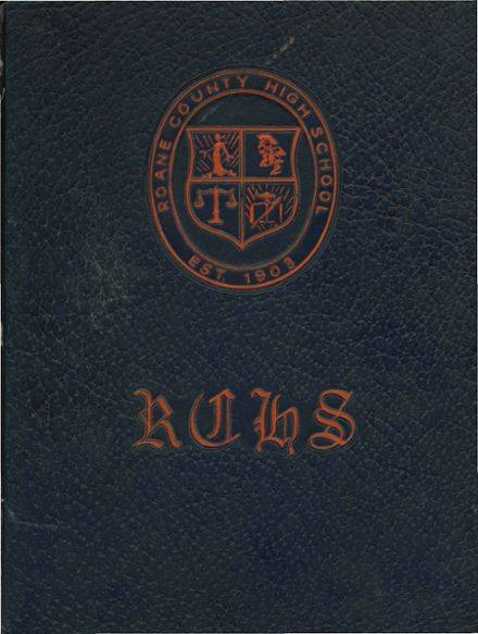 1976 Roane County High School Yearbook Cover