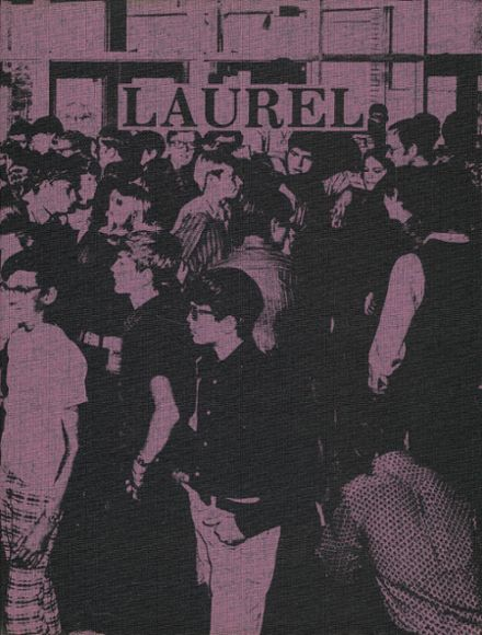 1972 Laurel Valley High School Yearbook Cover
