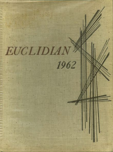 1962 Euclid High School Yearbook Cover