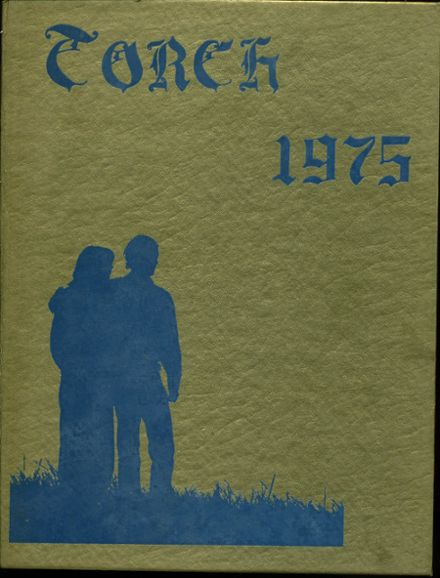 1975 Alhambra High School Yearbook Cover